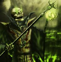 Ancient Lich by McJohnArt
