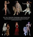3D Render Fantasy Stock Pack by cosmosue