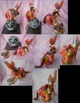 Legend of Zelda Majora's Mask Skullkid and moon by LightningSilver-Mana