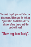 Over My Dead Body by homestucktroll123