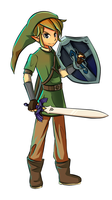 Skyward Sword Link Collab by Daboya