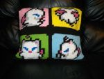 Moogle Pillow Back by Crittercre8r