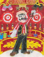 "Ray Leona ""The Carnival Man"" by Sketchman147"