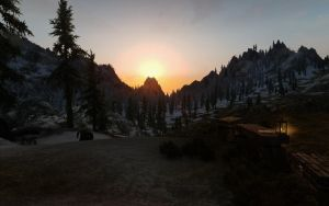Skyrim - Scenery 4/5 by Euther