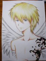 Angel tatoo by Recca-Kun