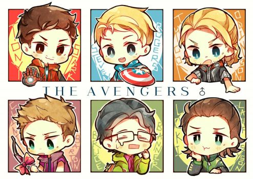 The Avengers by GAiTOsan