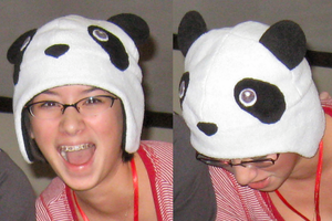 Panda Hat by clearkid