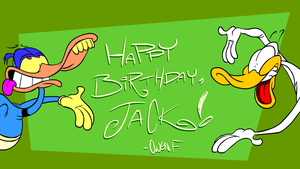 Happy Birthday to Jack D. Evans!! by Lotusbandicoot