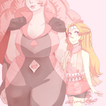 Homeworld Pearl And Rose by Sogequeen2550