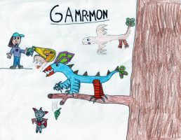 Gamrmon by Rapono