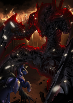 Behemoth and the Changeling King by CorruptionSolid
