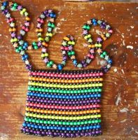 Kandi purse by XTsukiXhimeX