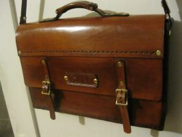 Finished: Attache Case by passbyguy