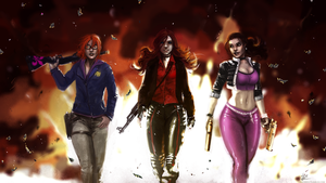 Queens of Steelport by amrrr