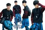 EXO Lay PNG Pack {Sohu Fashion} by kamjong-kai