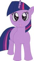 Filly Twilight sparkle by Rayodragon