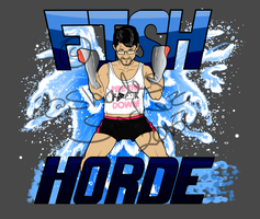 Fan Art: Markiplier - Fish Horde by loba-sombra