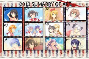 2012 Summary of art by HaiHoVoThan