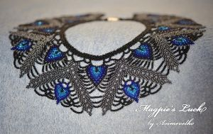 Collar 'Magpie's Luck' by aoimevelho