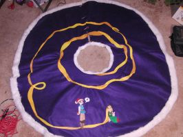 Tangled Tree Skirt full view by Lokotei