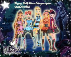Happy HalloWinx Group Picture by itsmejovan