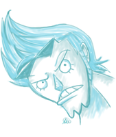 Franky Speed Paint by Snuckledrops