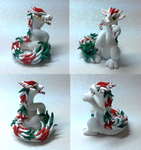 Candy Cane Oriental Dragon by Alexandrite-Dragons