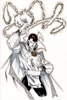Doctor Strange - Diable Blanc by SpiderGuile