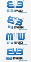 MYW Logo by nyukdesign
