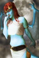 Catzilerella as Demona by PierreDave85
