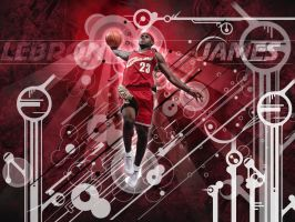 LeBron James by kaloian40