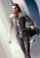 The Avengers Loki hurrr by WhatICantDo