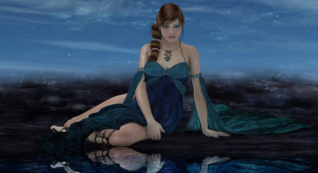 Playing in Poser and Adobe by Poser4U