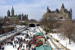 Winterlude in Ottawa by PaulMcKinnon