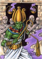 Osiris - Classic Mythology by tonyperna