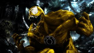 Yellow Lantern Venom by 666Darks