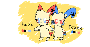 Hope And Peace Refs by Penelope-Sprinkles