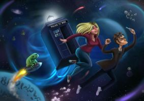 Doctor Who by tropicalraccoon