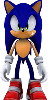 Sonic the Hedgehog (SA2) by itsHelias94