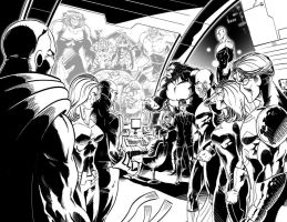 Stormchasers issue 6 pencils+inks by kre8uk