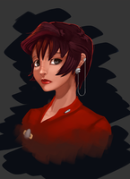 Major Kira Nerys by Shnider
