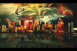 Contest GW - Photomanipulation end of the world by Minnieffl