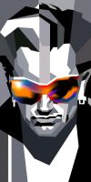 Bono in WPAP by wedhahai