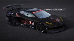 Vrolok Clothing Corvette C8.R by javieroquendodesign