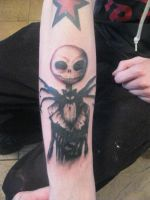 jack skellington tattoo by tattoosbyjon