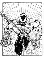 Venom ink commission by PeterPalmiotti