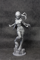 Supergirl Statue by UsmanHayat