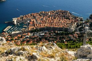 Dubrovnik from above 1 by wildplaces