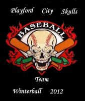 Playford City Skulls Winterball Team by Kargroth