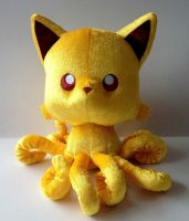 ~~LEGENDARY GOLDEN TENTACLE KITTY!!!~~~ by TentacleKitty